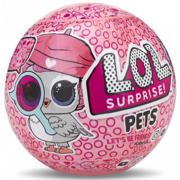 Купить кукла-сюрприз в шарике lol surprise в магазине Пчелка
