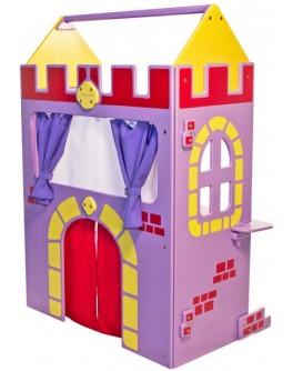 Ширма для кукольного театра Замок 3 в 1 - SP DSK-D-007-02-01