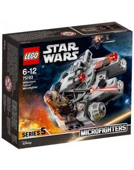 Конструктор LEGO Star Wars Микрофайтер Сокол Тысячелетия (75193) - bvl 75193