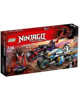 Конструктор LEGO NINJAGO Уличные гонки змей (70639) - bvl 70639