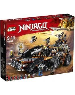 Конструктор LEGO NINJAGO Стремительный странник (70654) - bvl 70654