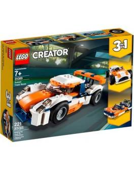 Конструктор LEGO Creator Оранжевый гоночный автомобиль (31089) - bvl 31089
