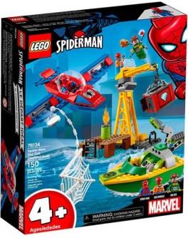 Конструктор LEGO Super Heroes Человек-Паук: похищение бриллиантов Доктором Осьминогом (76134) - bvl 76134