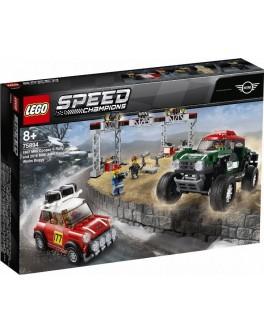 Конструктор LEGO Speed Champions Автомобили 1967 Mini Cooper S Rally та 2018 MINI John Cooper Багги (75894) - bvl 75894
