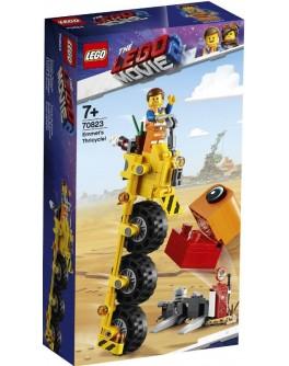 Конструктор LEGO® Movie Трехколёсный велосипед Эммета (70823) - bvl 70823