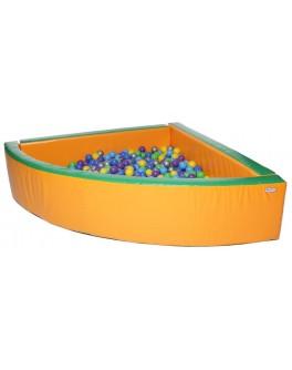 Сухой бассейн KIDIGO Угол 2 м