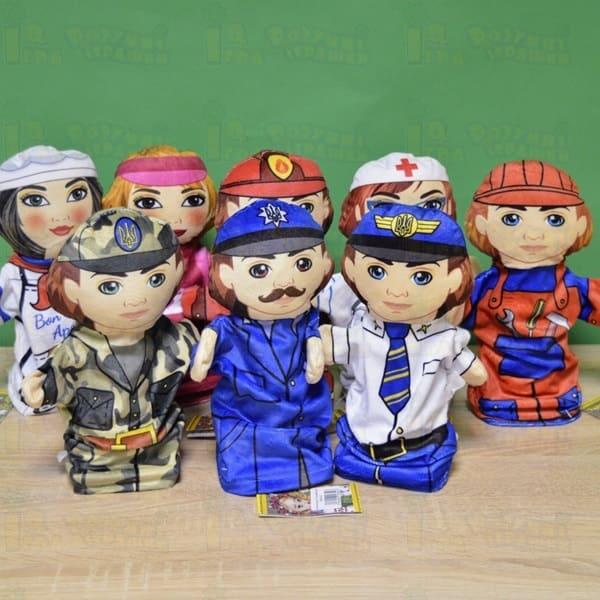 куклы на руку Профессии