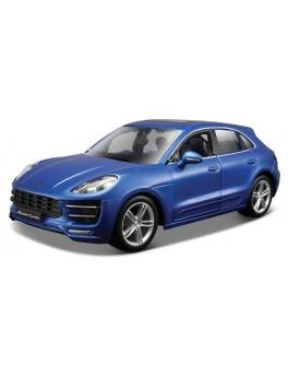 Авто-конструктор - PORSCHE MACAN (синий металлик, 1:24) - KDS 18-25117