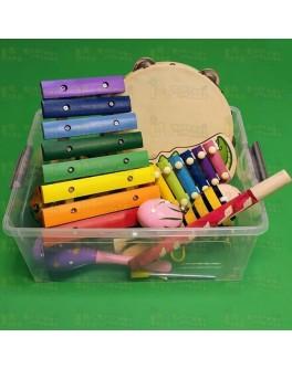 Набор музыкальных инструментов, 20 предметов. НУШ - нуш 20