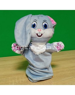 Кукольный театр Животные - Зайчик - iqgra зайчик