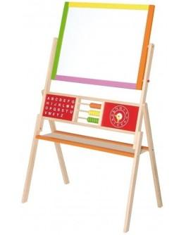 Двусторонний магнитный мольберт Viga Toys (50951) - afk 50951