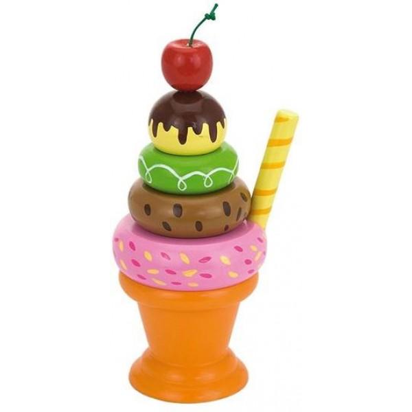 Мороженное с фруктами. Вишенка Viga Toys 51322