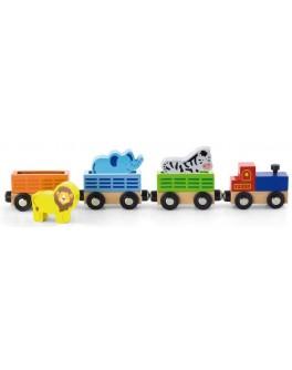 Доп. набор к ж/д Viga Toys Поезд с животными (50822) - afk 50822