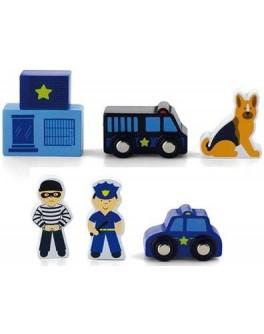 Доп. набор к ж/д Viga Toys Полицейский участок (50814) - afk 50814