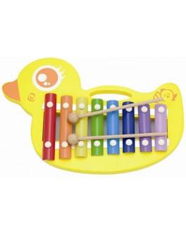 Игрушка Viga Toys Ксилофон Утенок (59769) - afk 59769