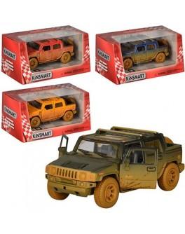 Машинка коллекционная Kinsmart Джип Hummer H2 Sut 2005 (KT 5097 WY)