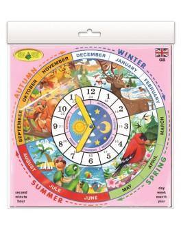 Игра Изучаем время: Английский язык