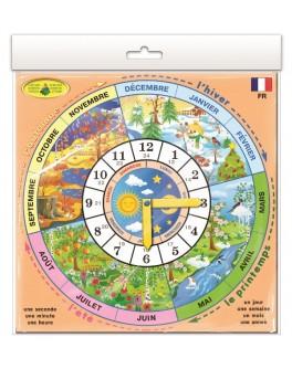 Игра Изучаем время: Французский язык