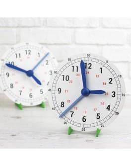 Обучающие механические часы макет 400 мм