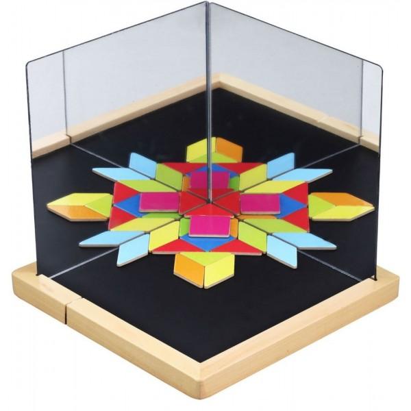 Магнитная игра Визуализация Classic World 3536