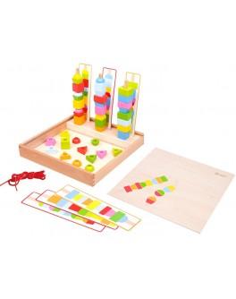 Игровой набор фигурок Classic World в деревянной коробке - CW 8012