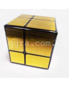 Зеркальный Кубик 2х2 (золото)