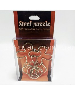 Игра-головоломка металлическая, 5 видов