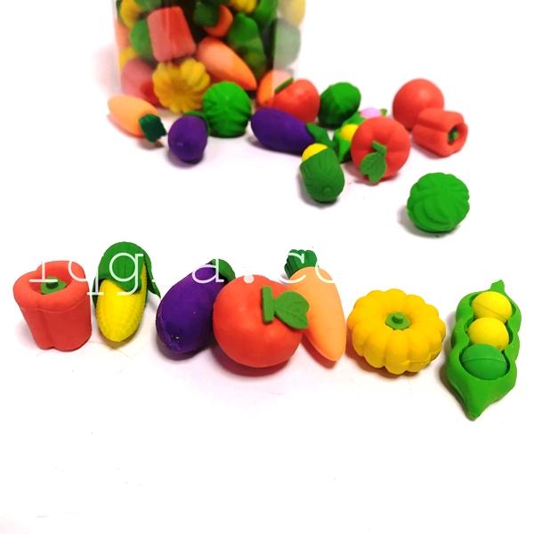 Набор ластиков Овощи
