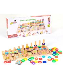 Деревянная игра Набор первоклассника Математика С 37649 - igs С 37649