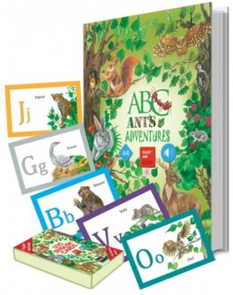 FastAR Kids - Живая книга Английская азбука Live ABC Ants Adventures - fast Абетка англійська