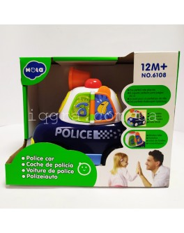 Музыкальная игрушка Hola Toys Полицейская машина (6108)