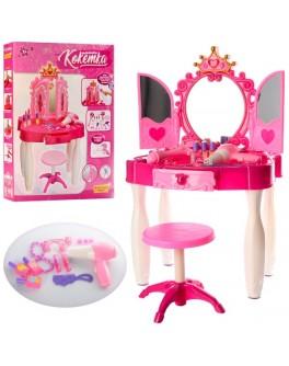 Детское музыкальное трюмо для девочек Маленькая кокетка 661-21 - mpl 661-21