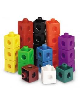 Математические кубики, 100 шт. Snap Cubes® Learning Resources - TFK 0032