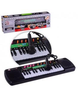 Детский синтезатор с радио и микрофоном MQ-001FM
