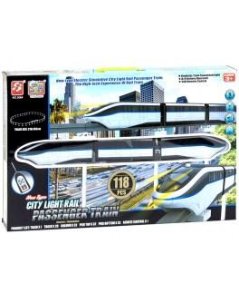 Железная дорога Скоростной экспресс, 118 деталей - igs 3064