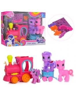 Игровой набор My Little Pony пони с паровозиком