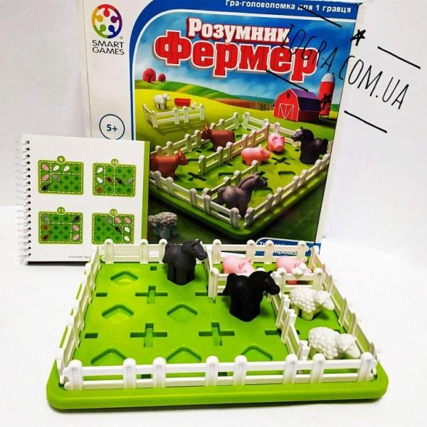 Игра головоломка Умный фермер Smart games SG 091 UKR