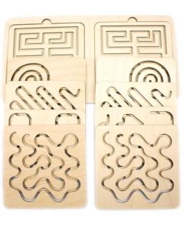 Межполушарная доска / трафареты для двух рук 2-й уровень Розумний Лис - roz 90107