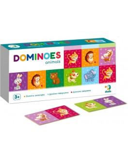 Настольная игра DoDo Домино Животные (300248) - dodo 300248