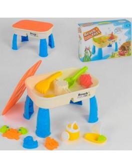 Столик для песка и воды с аксессуарами BeachToys