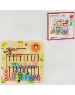 Деревянная игрушка Счеты-лабиринт C 39995 - igs C 39995