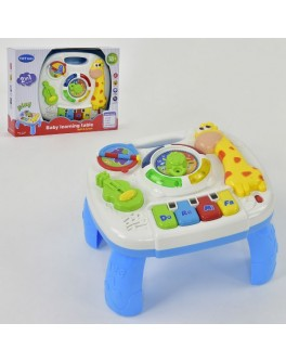 Дитячий музичний розвиваючий столик Жирафик - igs 1089