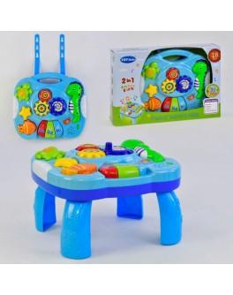 Детский музыкальный развивающий столик Водный мир