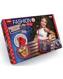 Набор для творчества Danko Toys Сумка Fashion bag вышивка мулине