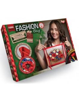 Набор для творчества Danko Toys Сумка Fashion bag вышивка лентами (FBG-01-01)