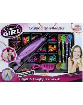 Набор для украшения волос бисером Glamor Girl 802 - igs 802