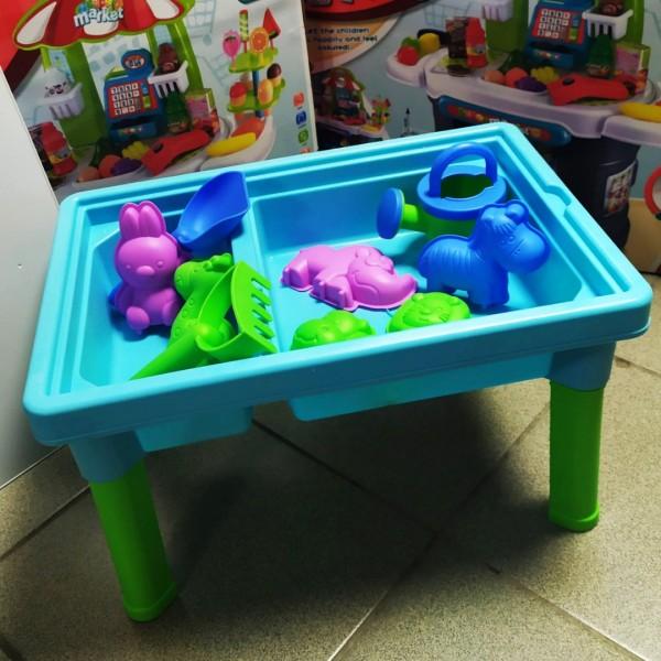 столик для песка и воды Животные