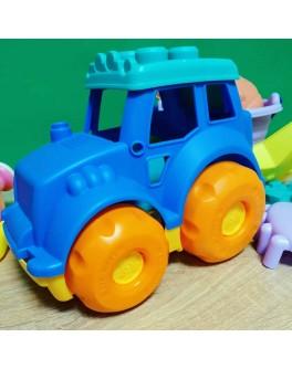 Мягкий трактор для игры в песочнице 30 см (HG-770-1) - mpl HG-770-1