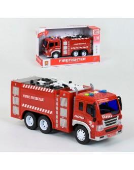Машинка інерційна Пожежна машина WY 350 A (світло, звук)