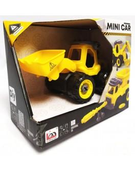 Конструктор с отверткой Трактор (LM 9013) - igs LM 9013